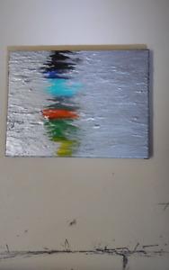 Original M.J.W. Acrylic Painting