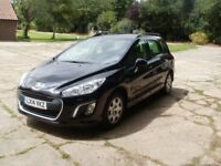 Peugeot 308 SW 1.6 HDI Access 2014 45,000 miles service history. 1 owner from new.