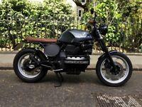 BMW K100 Cafe Racer/ Brat Custom Motorcycle (BMW K100 LT)