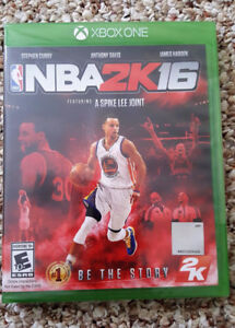 XBOX ONE NBA 2k16 Brand New and Sealed -