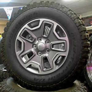 5 pneu sur mag BFGoodrich Mud-Terrain LT255/75R17