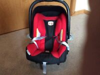 Britax isofix base and car seat