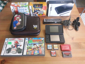 Mint Nintendo ds lite with games