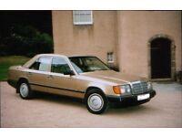 1987, Classic Mercedes Benz, W124 auto