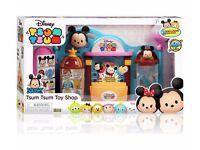 Disney Tsum Tsum Toy Shop Playset, Brand New, Sealed