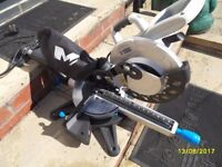 as new sliding mitre saw