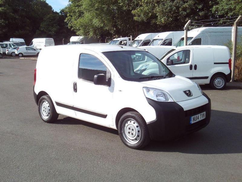 Peugeot Bipper 1.3 HDI 70bhp Van DIESEL MANUAL WHITE (2014)
