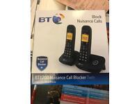 BRAND NEW BT TWIN PHONES