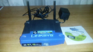 Linksys WiFi WRT54GS Router