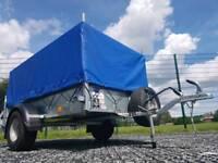 IFOR WILLIAMS TRAILER P6e FULLY CAGED IVOR WILLIAMS PLANT GARDEN MOTO X QUAD CAR