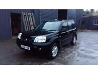 Breaking black 2004 nissan xtrail diesel sport 4x4 parts spares
