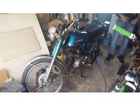 suzuki AP50 1977 ( R ) ORIGINAL classic sixteener moped.