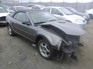 parting out 2002 ford mustang convertible