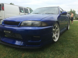 1994 NISSAN SKYLINE RB28DET 483 WHP DONT MISS BEAUTY