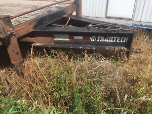 Tri axle pintle hitch trailer  for sale or trade