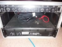 CMARK power amp with crossover and case £80 ono