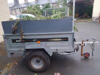 Daxara 147 (5x3) CarTrailer in Gwynedd & Cardiff