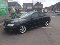 BLACK BEAUTY ! SAAB 9-3 VECTOR 1.8i 125BHP 4dr SALOON 2005(54)