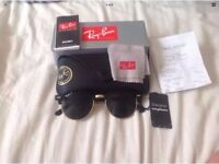 Ray Ban Clubround Polarised Lenses - Like New