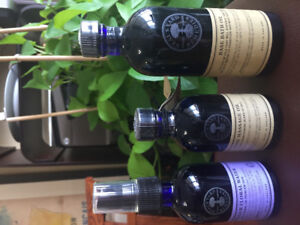 Neal's Yard natural remedy massage oil ,bath oil ,lavender water