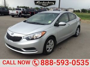 2016 Kia Forte LX SEDAN Bluetooth,
