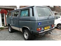 VW T25/T3 Syncro 4x4 Caravelle GL 1988 2.1 Petrol RHD