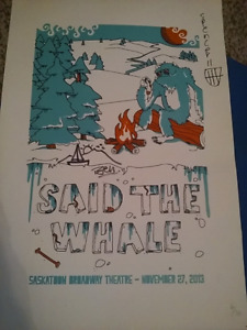 Said the Whale band posters