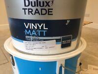 """Vinyl Matt paint for sale. 10L Dulux Trade paint """" Mostly Moonstone"""""""