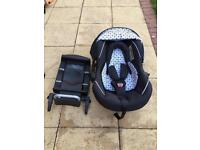 Silver Cross Infant Car Seat with ISOFIX Base