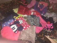 Girls clothes 5-6 years, 6-7 years &7-8 years. (Also trainers/shoes)