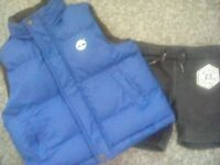 boys timberland gillet and shorts
