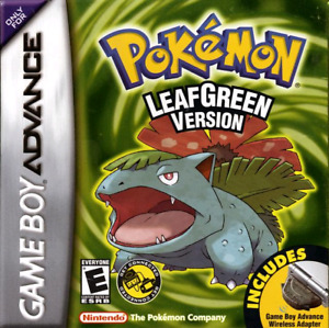 Recherche jeu Pokemon LeafGreen Game Boy Advance Nintendo