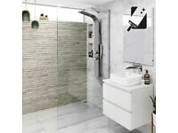 700mm - 8mm - Premium EasyClean Wetroom Panel