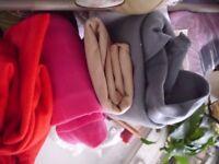 Fabric Bundle 17+ metres mixed Polar fleece & 3.5 metres Wadding