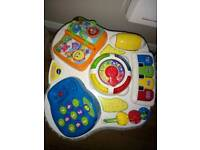 Vtech interactive activity table