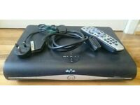 Sky+ HD box, Comes with power lead, remote control & scart lead