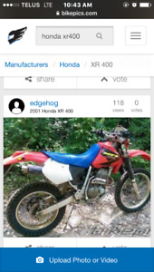 Wanted XR 400