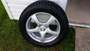 Tires d'hiver 255/55/18