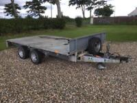 Ifor Williams LM126 Flat Bed Trailer