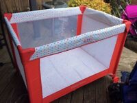 Fisher price travel cot for sale