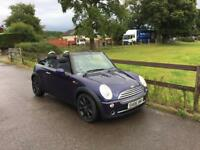 2006 Mini Cooper 1,6 litre 3dr convertible