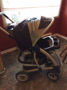 Graco Stroller- Folds,5 Point Harness, Unisex, Basket,Great Cond