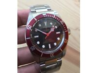 New stainless Tudor watch mens automatic