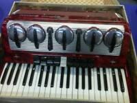 Settimo soprani accordion mussette excellent condition