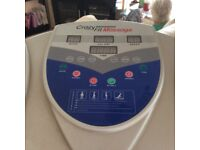 Vibro excercise machine very good condition takes up too much room as only have small living area.