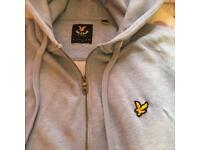 Lyle and Scott hoody light blue large