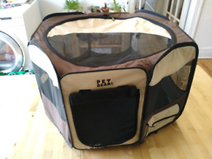 Pet gear travel lite OctaGon Pet Pen with removable top cat/dog.
