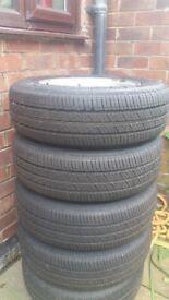 4 Van tyres.