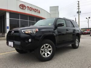 2016 Toyota 4Runner SR5 TRAIL EDITION, LEATHER, MOONROOF, NAVIGA
