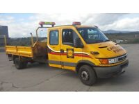 **FOR BREAKING** 2005 IVECO DAILY 2.8D DIESEL.